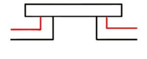 LED Fassadenstrahler Linea Anschlussvarianten