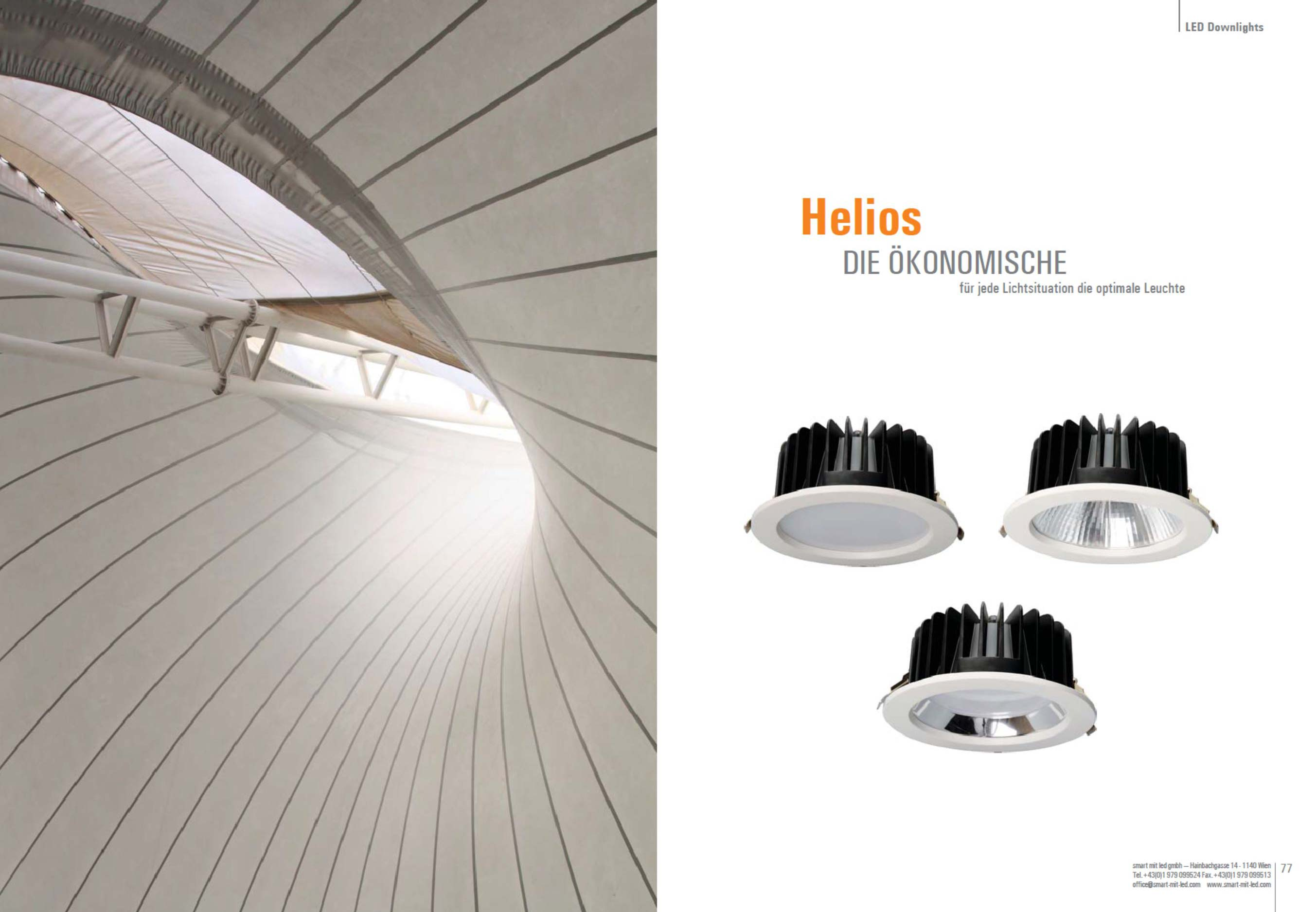 LED Downlight Helios