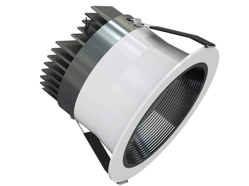LED Downlight aus der Galaxy Serie mit austauschbarer COB