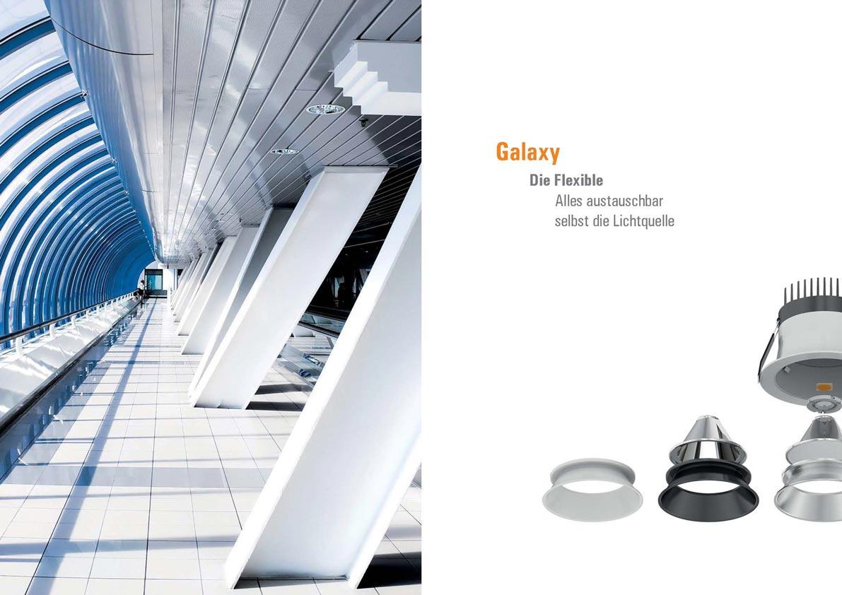 SML Smart mit LED Produktkatalog Galaxy Downlight