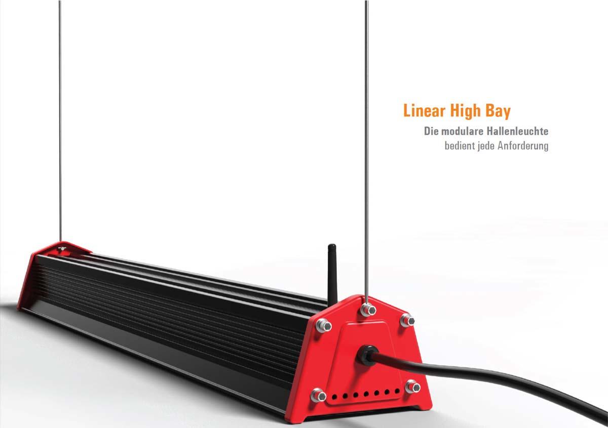 HiRack Serie LED Hallenleuchte