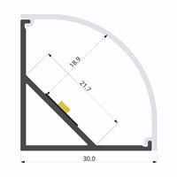 ALU-LLP-AN04-09-S2  30mm