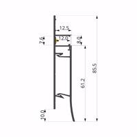 ALU- LLP-BB02-02-S2  13x75mm