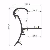 ALU-LLP-HR01-0203-S6  108x144mm