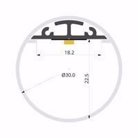 ALU-LLP-NE02-15-S2  DM30mm