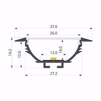 ALU-LLP-RE03-05-S2  37x14mm
