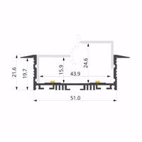 ALU-LLP-RE04-07-S2  67x22mm