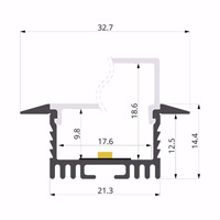 ALU-LLP-RE05-01-S2  33x15mm