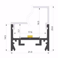 ALU-LLP-SL01-01-S2  21x25mm