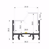 ALU-LLP-SL02-06-S3  36x26mm