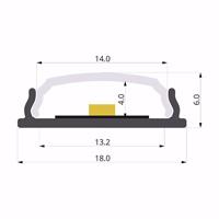 ALU-LLP-SL04-04-S2  18x6mm