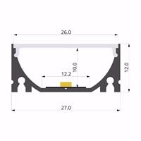ALU-LLP-SL06-05-S2  27x12mm