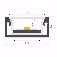 ALU-LLP-SL09-12-S3  21x10mm