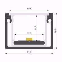ALU-LLP-SL10-13-S3  21x16mm