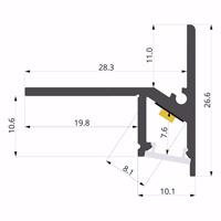 ALU-LLP-ST01-02-B2  29x27mm