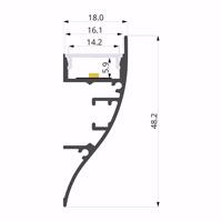 ALU-LLP-WL01-03-S2  18x49mm