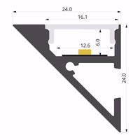 ALU-LLP-WL02-03-S2  24x24mm