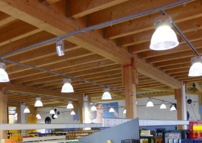 Aura LED Hallenleuchte LED Pendelleuchte Verkaufsraum Supermarkt