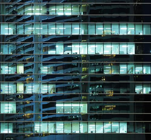 Bürogebäude-Line-M-Serie