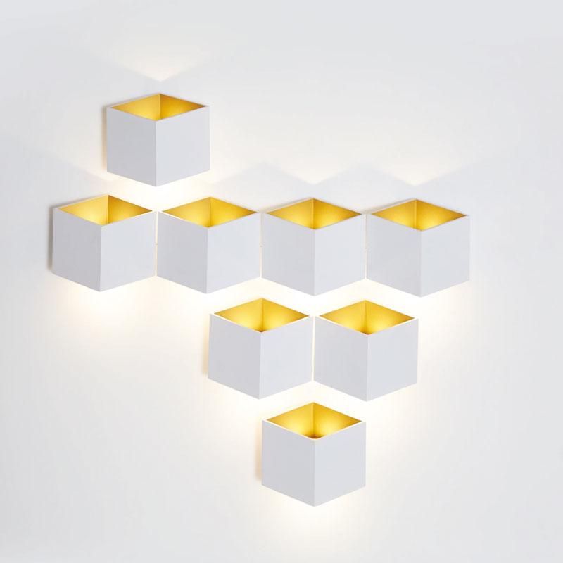 CUBE LED Wandleuchte