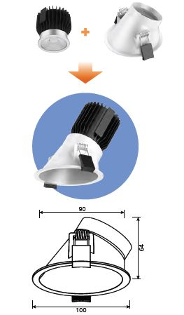 DL170-90-B-led-downlight-lia-sml