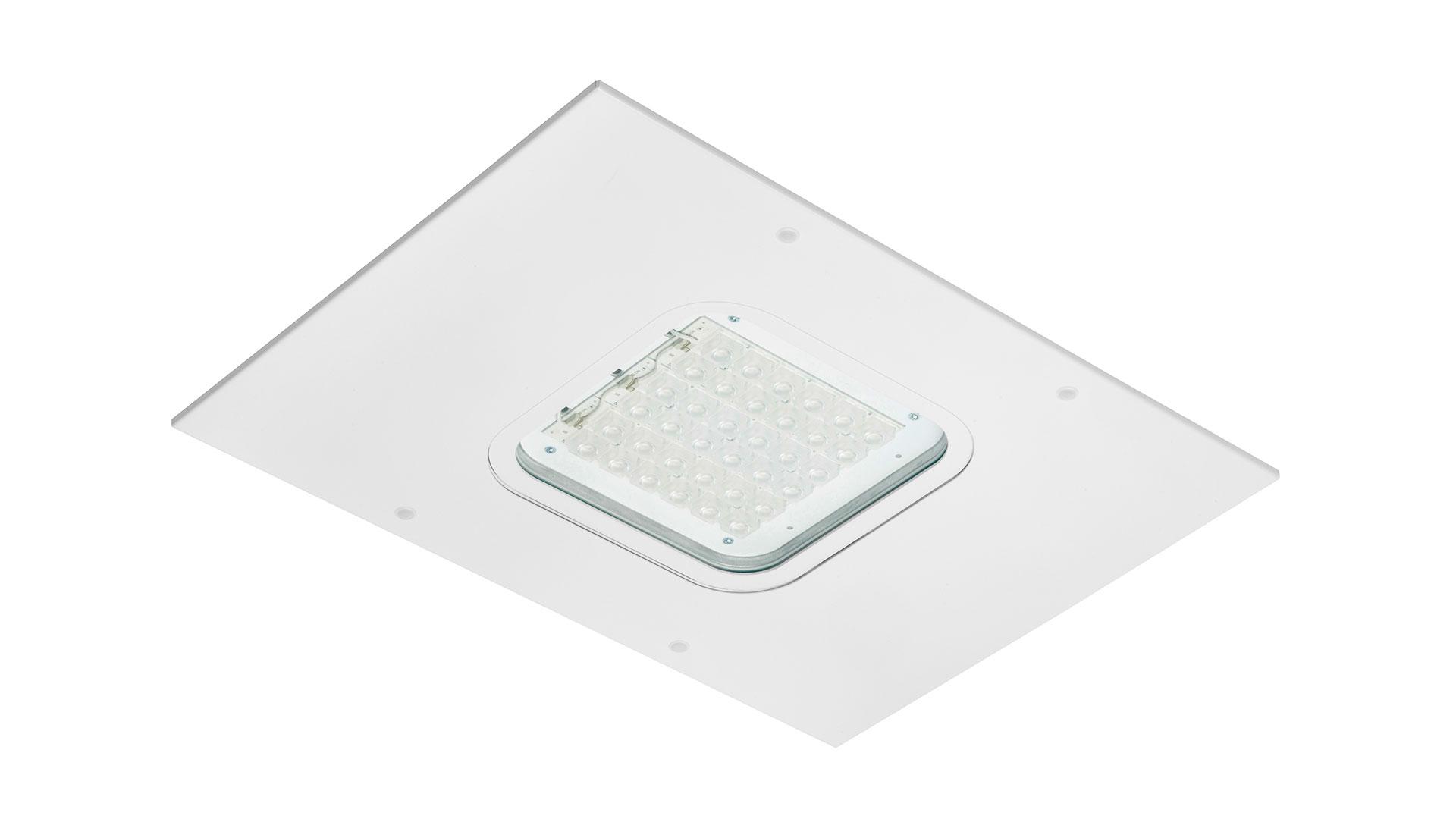 LED Tankstellenleuchte DROS für Tankstellenbeleuchtung