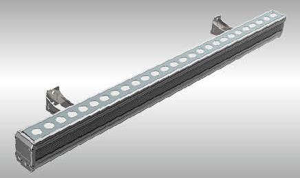 Linea Wallwasher LED lineare Fassadenleuchte