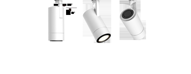 LED Stromschienenstrahler Flex drehbar