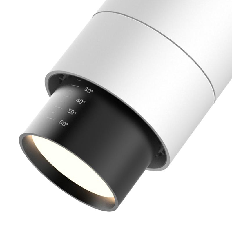 LED Stromschienenstrahler Flex von SML mit variablem Abstrahlwinkel
