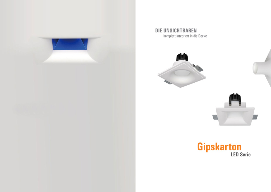 Trimless LED Downlights