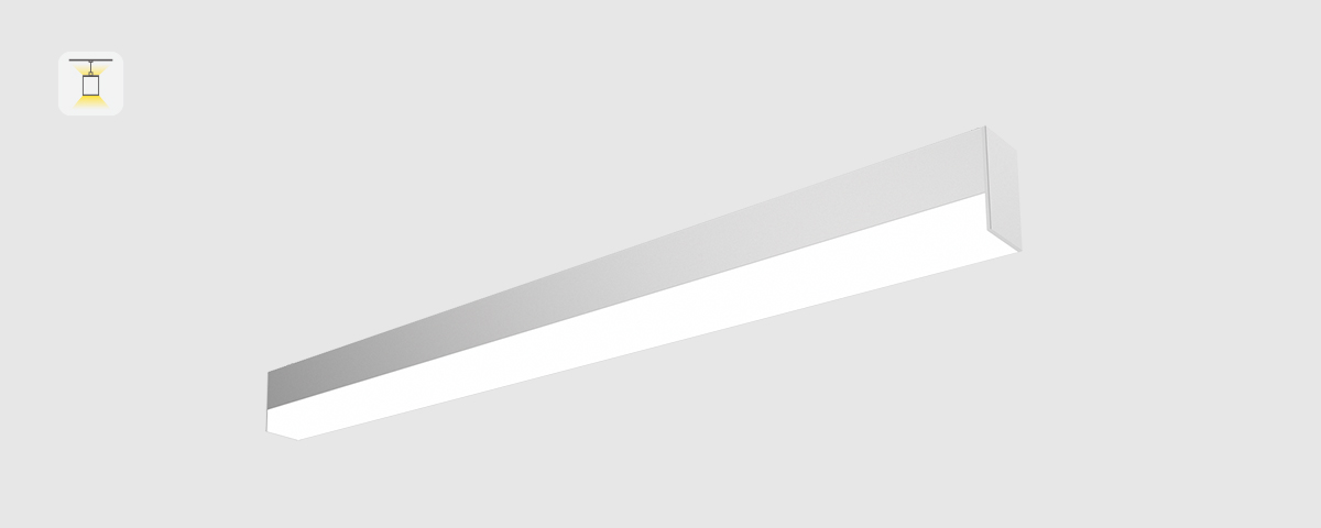 iLine LED Pendelleuchte Direkt indirekt