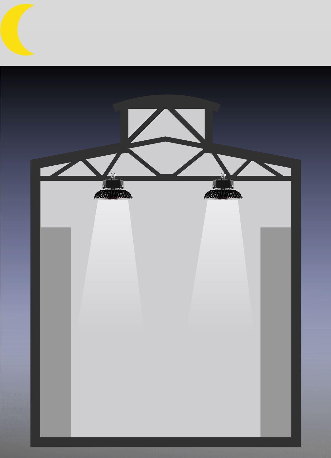 SML LED Hallenleuchte Koloss tageslichtabhängige Steuerung