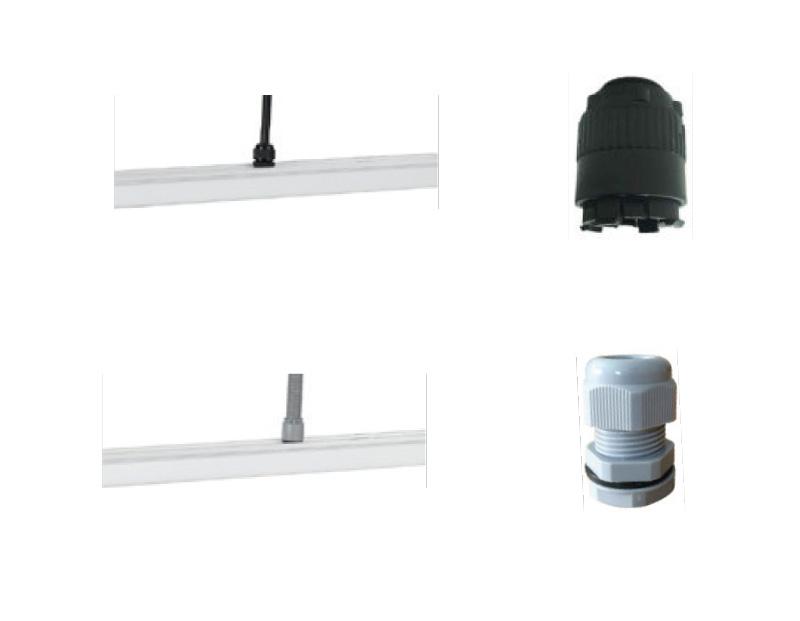 LED Lichtbandsystem Kabeleinspeisung