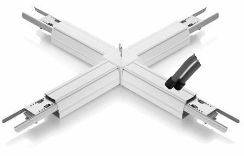 LED Lichtbandsystem Einspeisung Variante 5