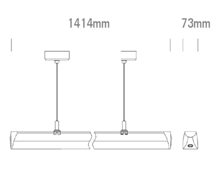 LED Lichtbandsystem das Leuchtenmodul 1500