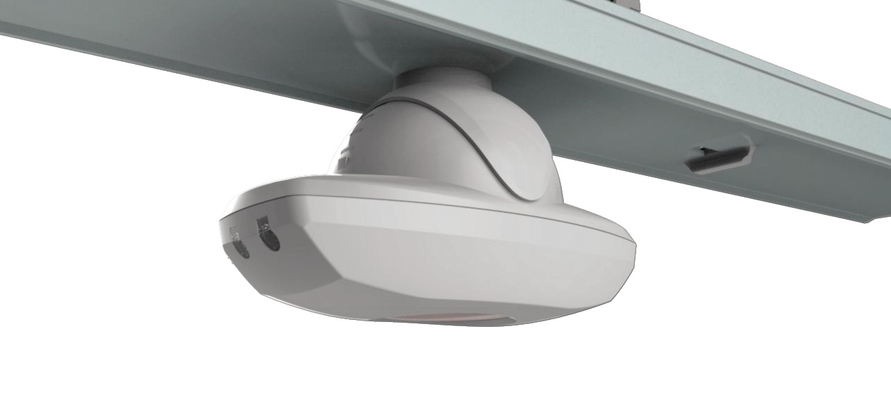 LED Lichtbandsystem Multisensor drehbar