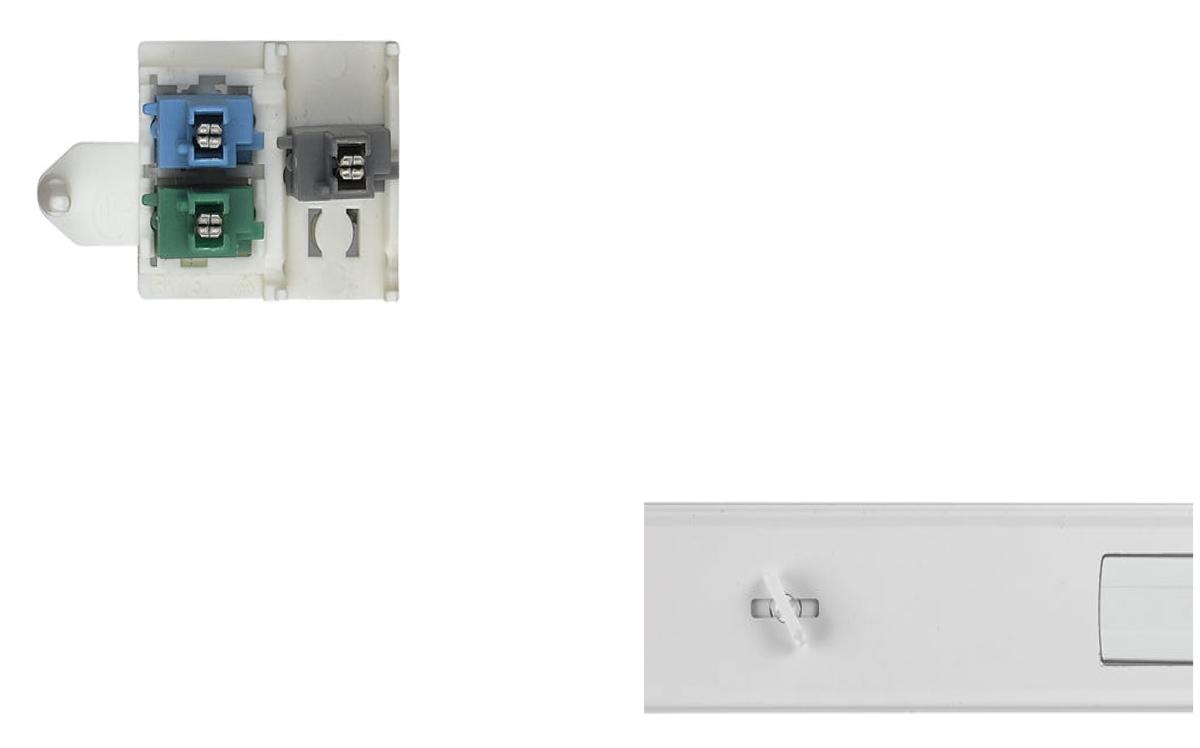 LED Lichtbandsystem Stromschieneneinsatz Strahler Steckverbinder