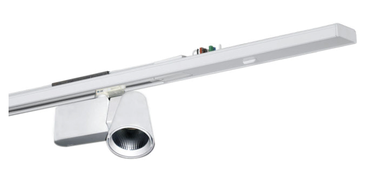 LED Lichtbandsystem Stromschieneneinsatz Strahler