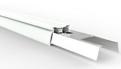 LED Lichtbandsystem Tragschiene weiss