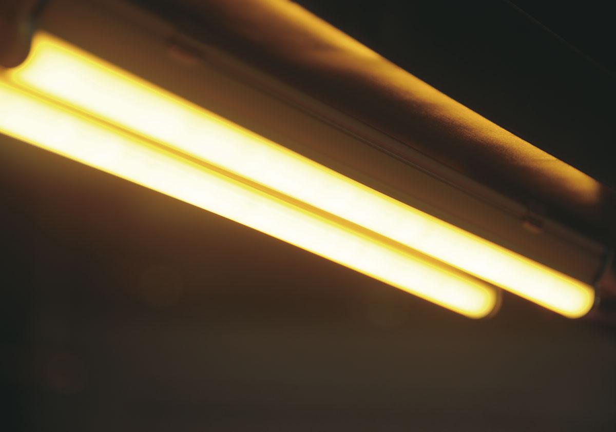 LED Röhre für Teigwaren