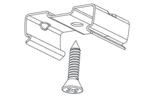 LED Röhre T5 integrierter Driver Anbaubefestigung