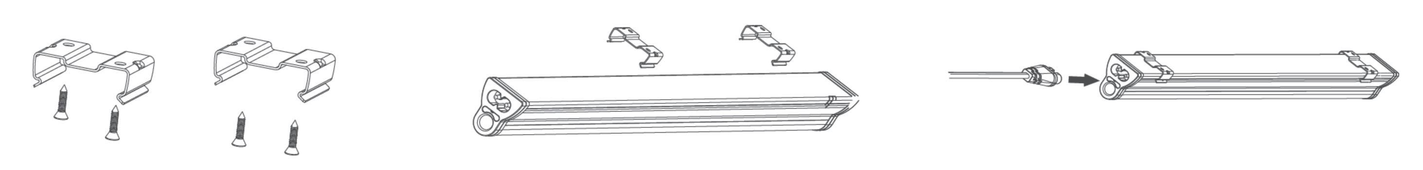 LED Lichtleiste T5 Driver integriert | Smart mit LED - SML