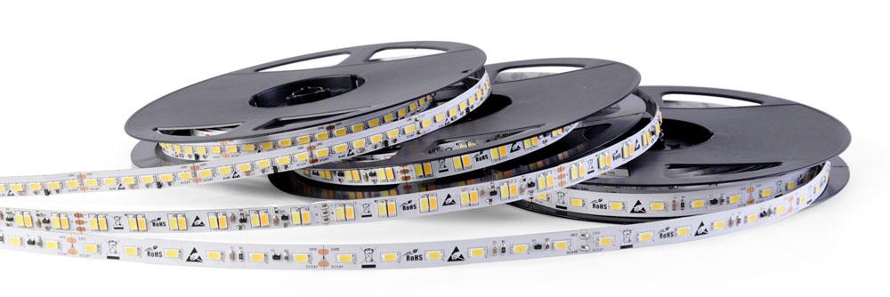LED Streifen 230V und LED Streifen 24V mit Aluminiumprofilen
