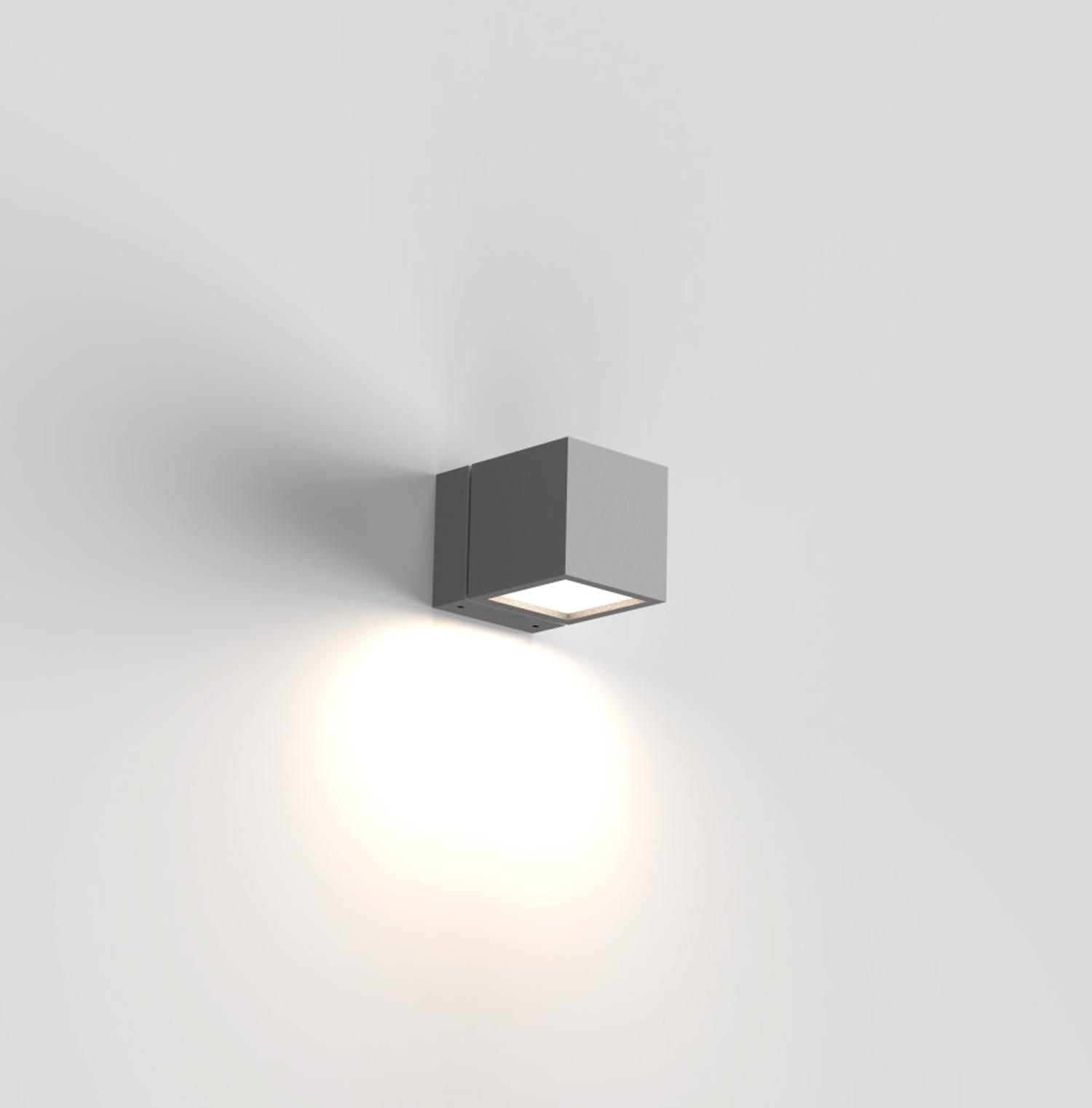 Cube LED Wandleuchte Fassadenbeleuchtung