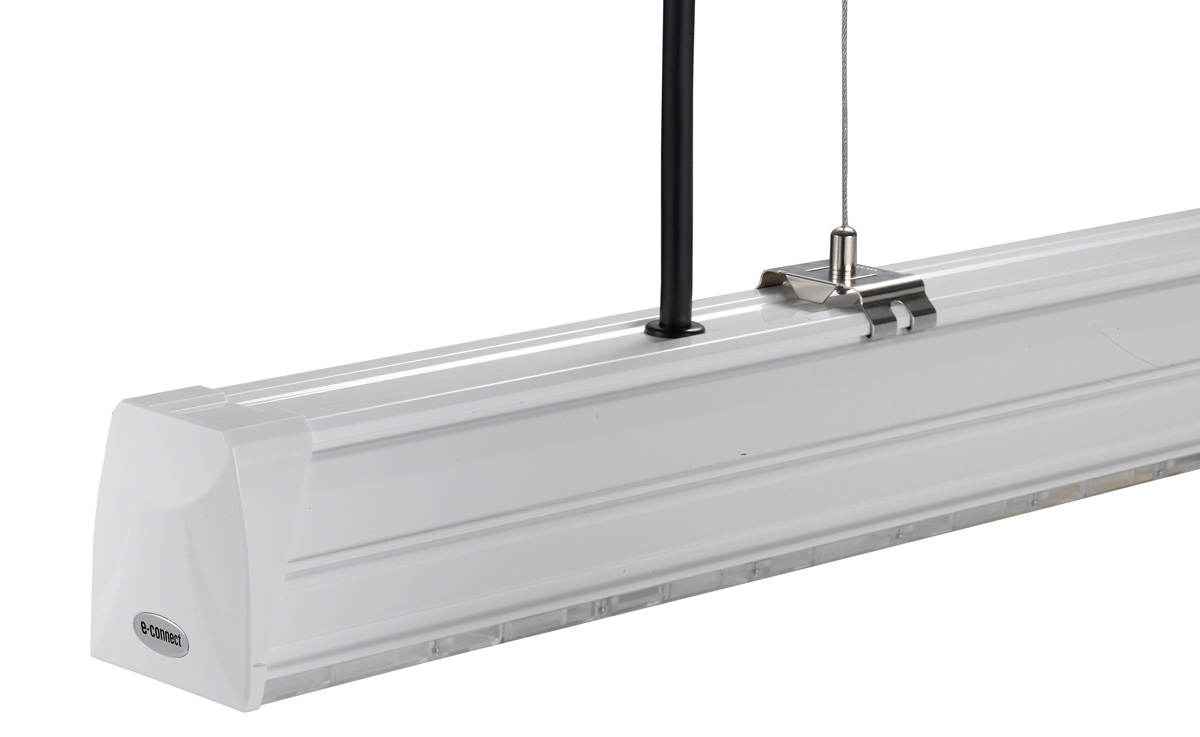 LED Lichtbandsystem Einspeisung Variante 1