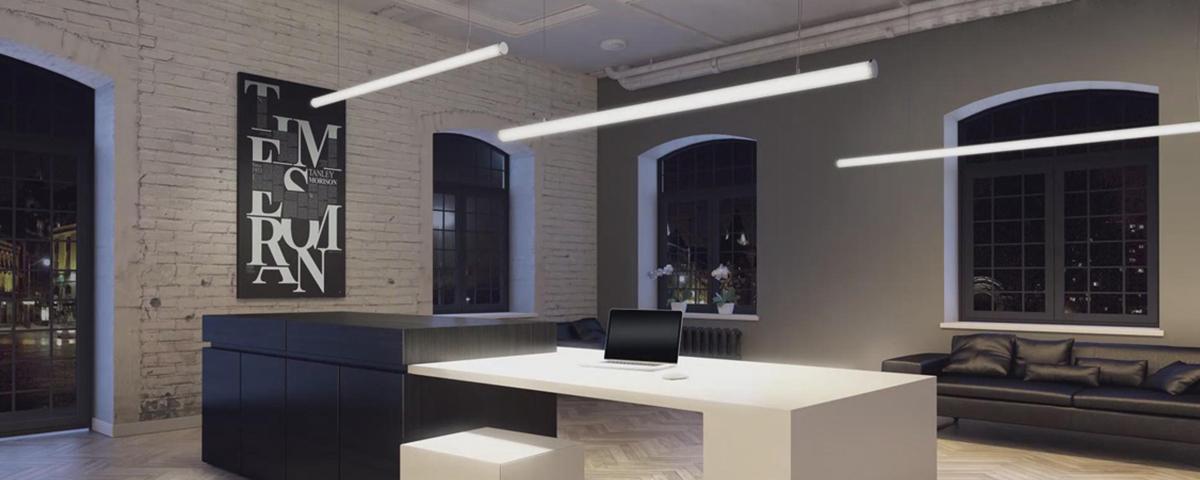 LED Pendel und Anbauleuchte LineR