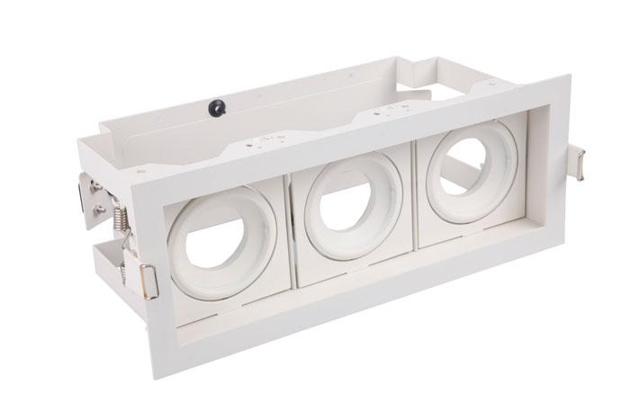 MX3 Einbaurahmen LED Spotlight