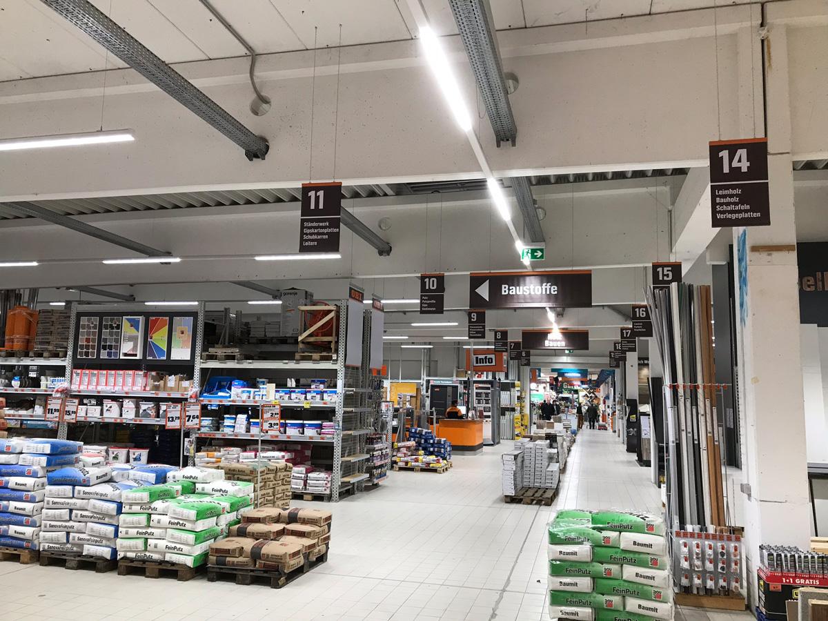 LED Lichtbandsystem e-Connect OBI Markt