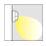Relina LED Wandleuchte Abstrahlwinkel 1