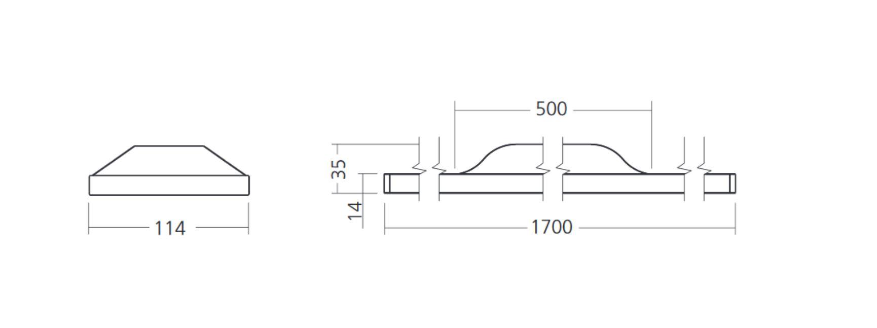 SML LED Pendelleuchte Duelis Abmessungen